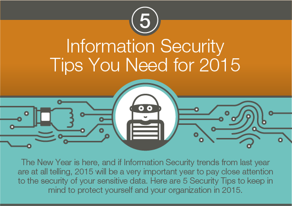 5 Information Security Tips for 2015