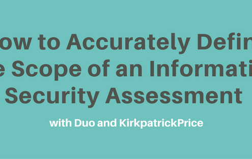 How to Accurately Define the Scope of an Information Security Assessment