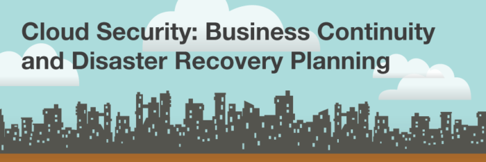 Cloud Security: Business Continuity and Disaster Recovery Planning
