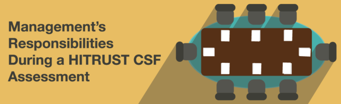 Management's Responsibilities During a HITRUST CSF Assessment