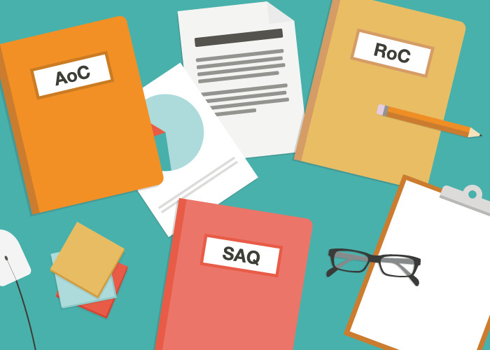 PCI DSS Compliance - What Do SAQ, AoC, and, RoC Mean